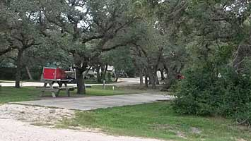 Enchanted Oaks RV Park in Rockport, TX - Large RV Sites