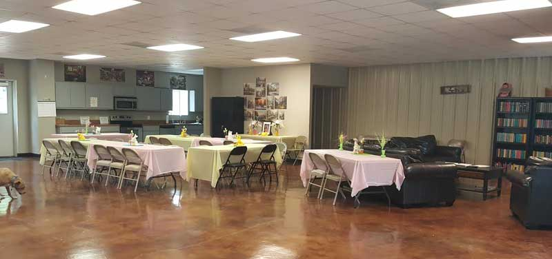 Enchanted Oaks RV Park in Rockport, TX - Our Dining Room