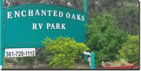 Enchanted Oaks RV Park in Rockport, TX