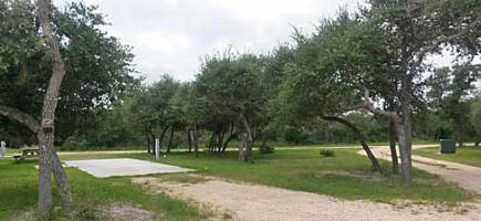 Enchanted Oaks RV Park in Rockport, TX - One of our sites