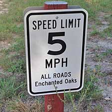 Enchanted Oaks RV Park in Rockport, TX - Our Speed Limit